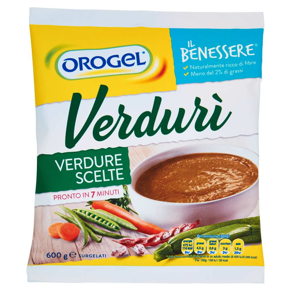 Orogel Il Benessere Verdurì verdure scelte surgelati