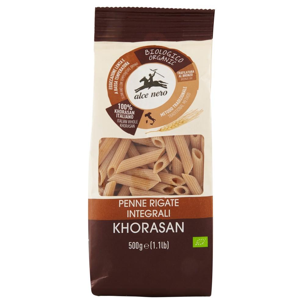 alce nero Penne Rigate Integrali Khorasan