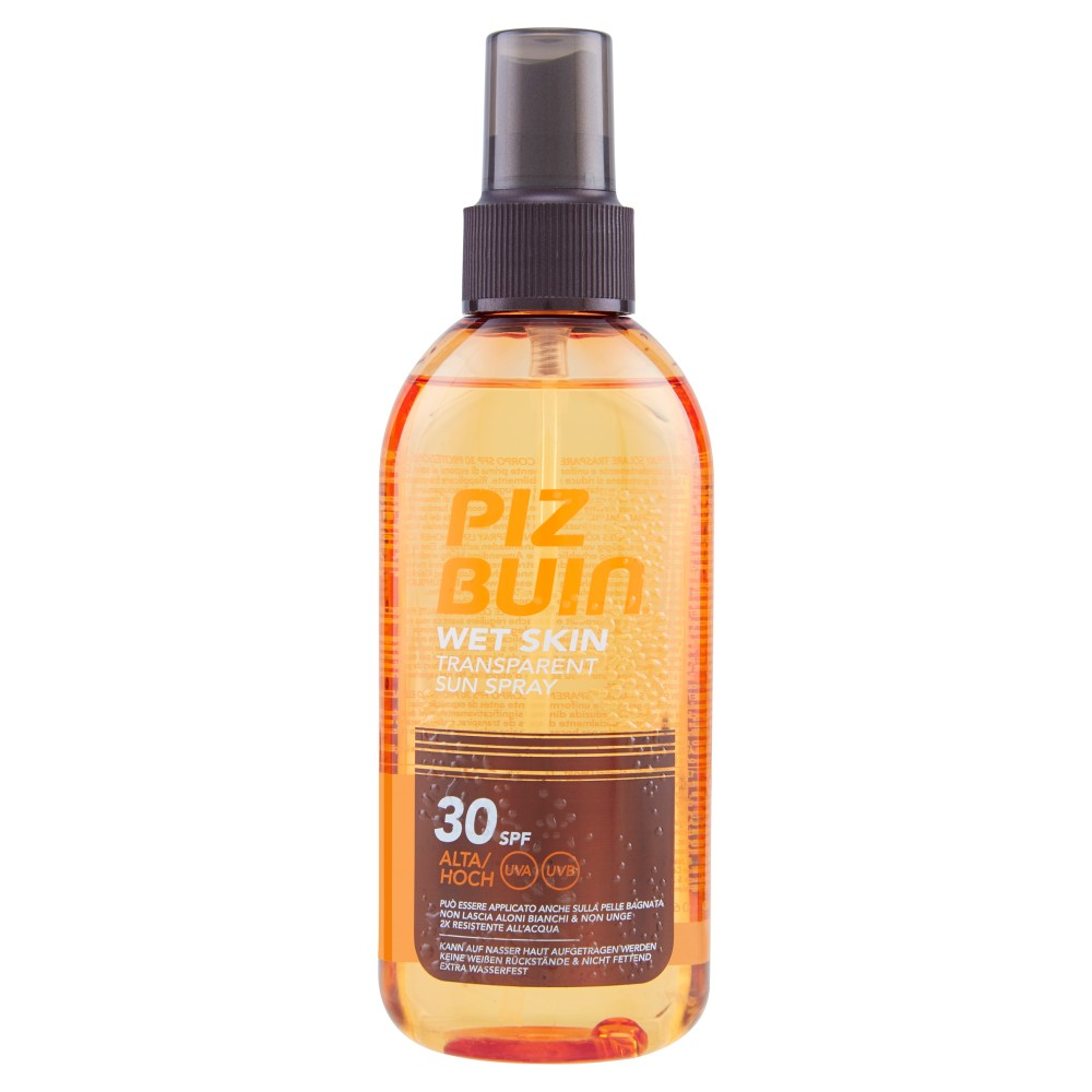 Piz Buin Wet Skin Transparent Sun Spray 30 Spf Alta