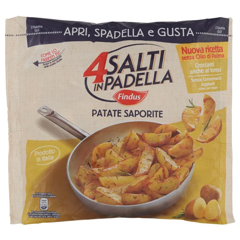Findus 4 Salti in Padella Patate Saporite