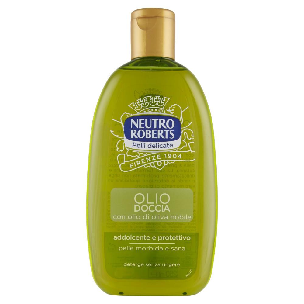 Neutro Roberts Pelli delicate Olio Doccia con olio di oliva nobile