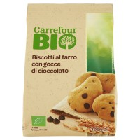 Biscotti Di Farro Con Gocce Di Cioccolato Biologici