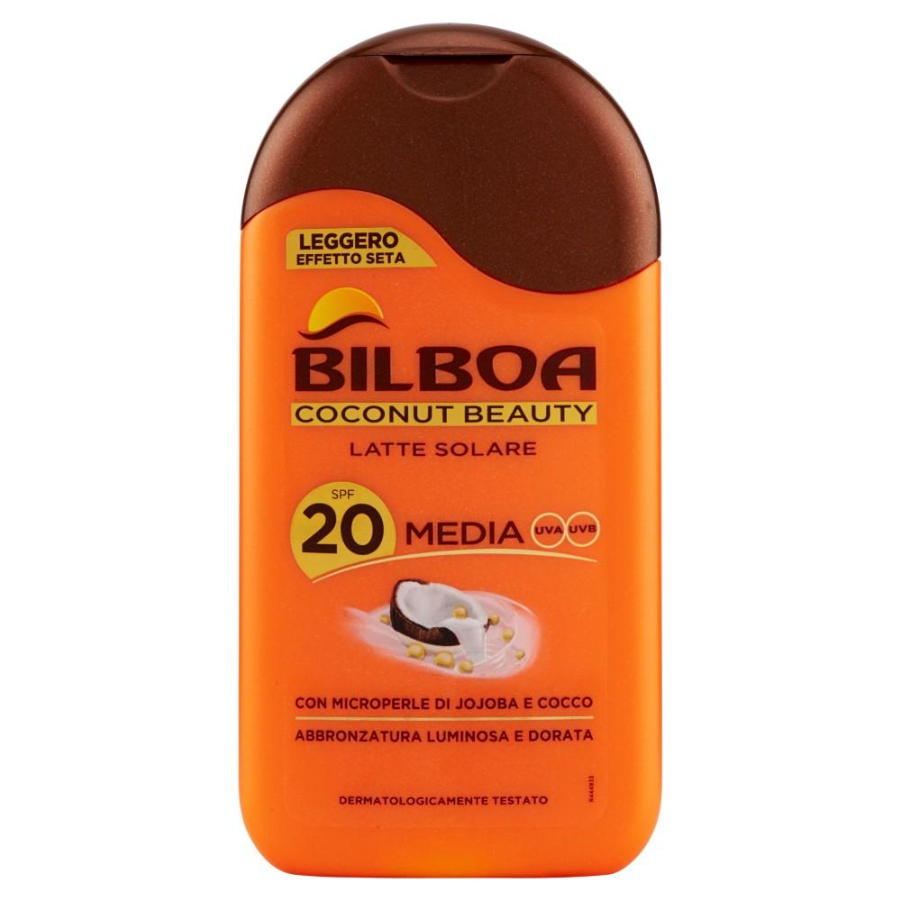 Bilboa Coconut Beauty Latte Solare Spf 20 Media