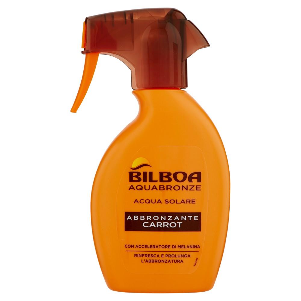 Bilboa Aquabronze Acqua Solare Abbronzante Carrot