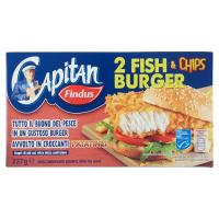 Capitan Findus Fish Chips Burger