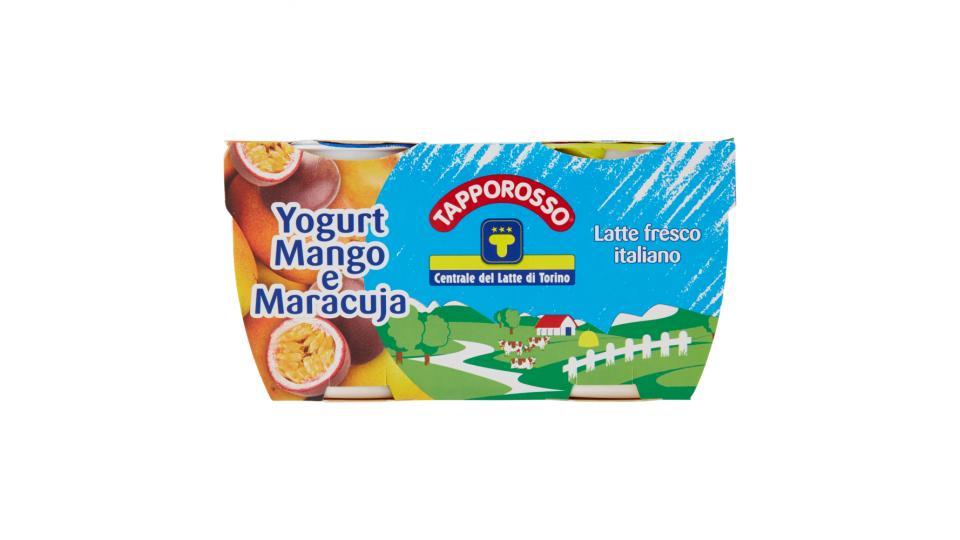 Centrale del Latte di Torino Tapporosso Yogurt Intero Mango e Maracuja