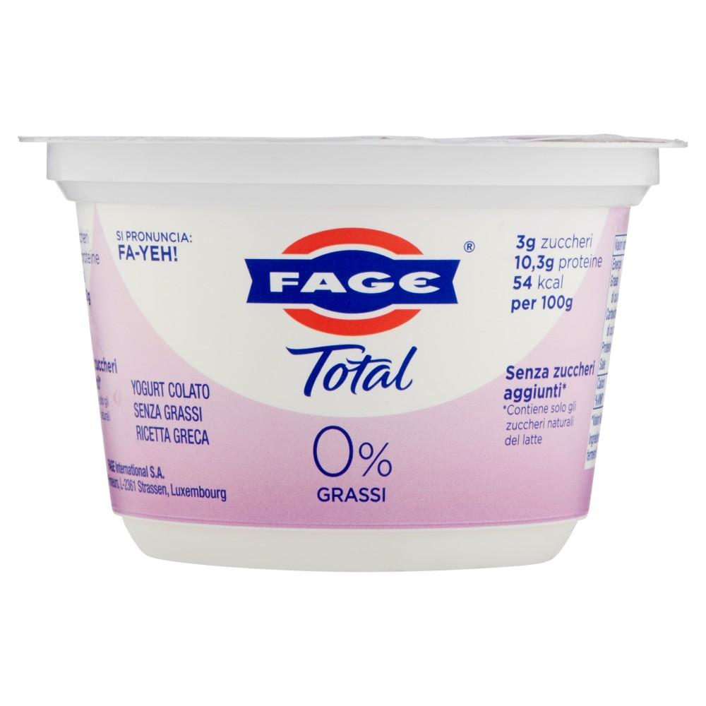 Fage Total 0% Grassi