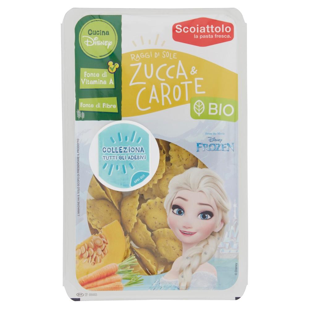 Scoiattolo Raggi di Sole Zucca & Carote Bio Disney Frozen