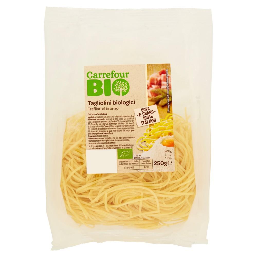 Carrefour Bio Tagliolini biologici