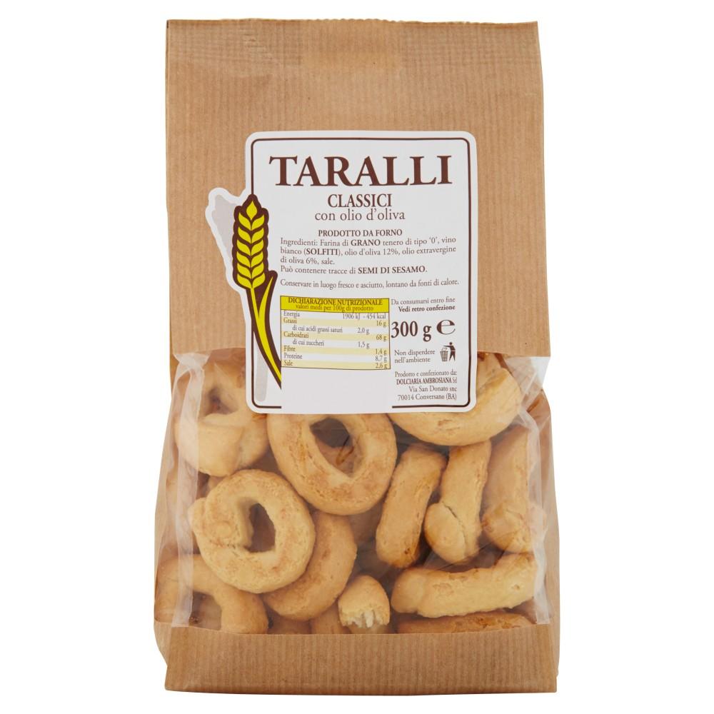 Taralli Classici con olio d'oliva