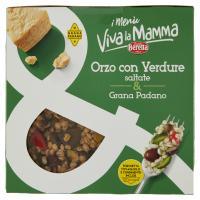 Fratelli Beretta i Menù Viva la Mamma Orzo con Verdure saltate & Grana Padano