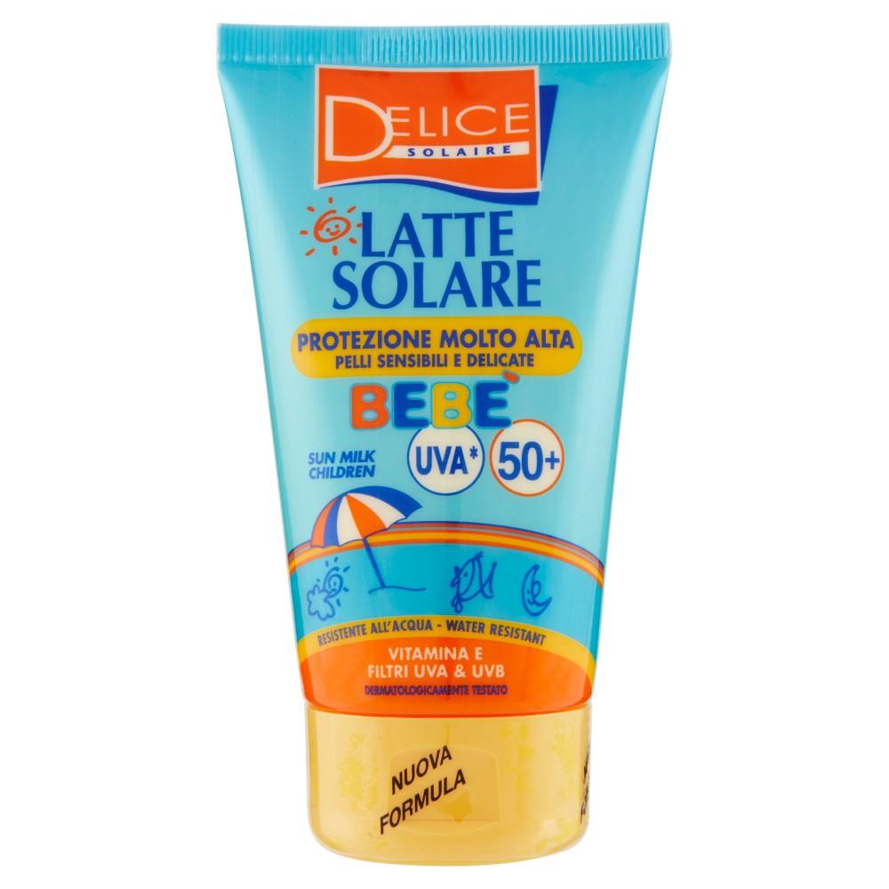 Delice Solaire Latte Solare Bebè Protezione Molto Alta FP50+