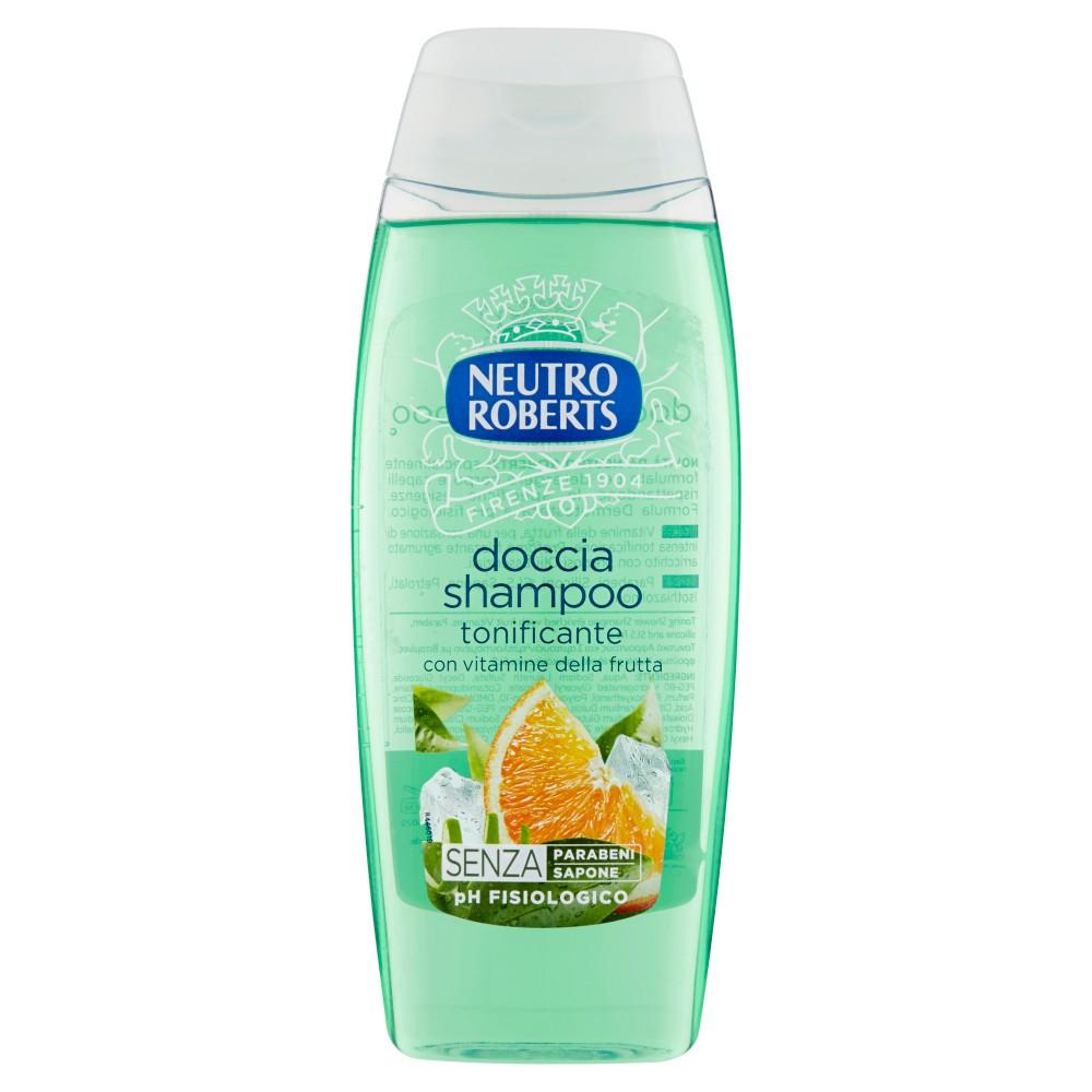 Neutro Roberts doccia shampoo tonificante con vitamine della frutta
