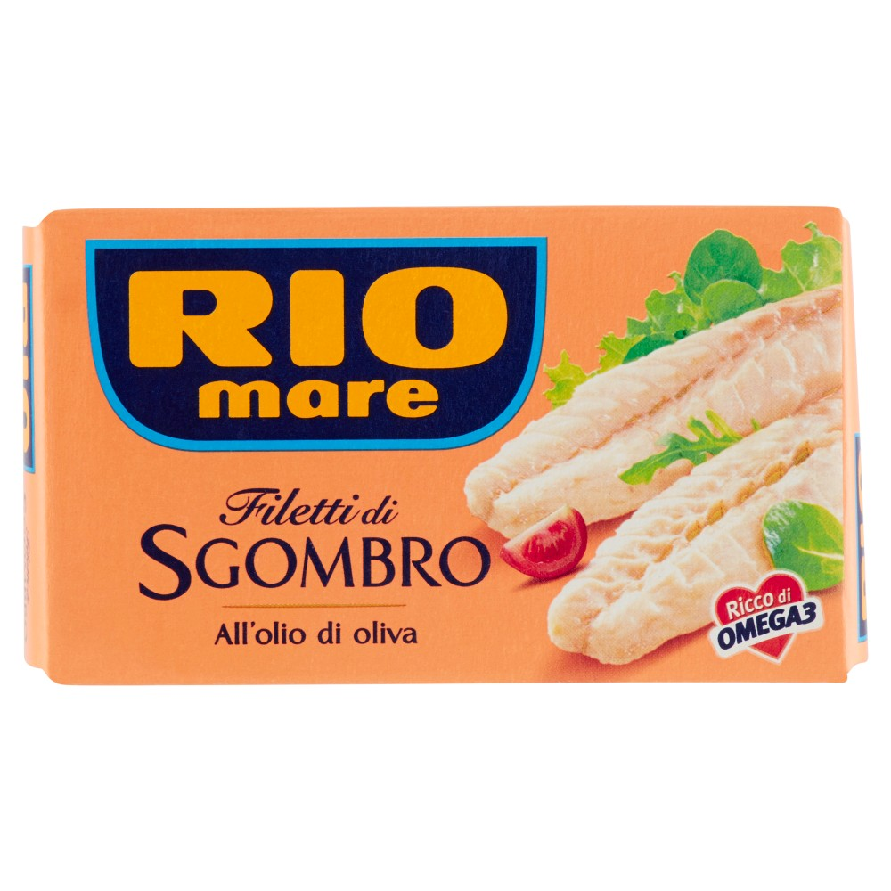 Rio Mare - Filetti di Sgombro, all'Olio di Oliva 26%