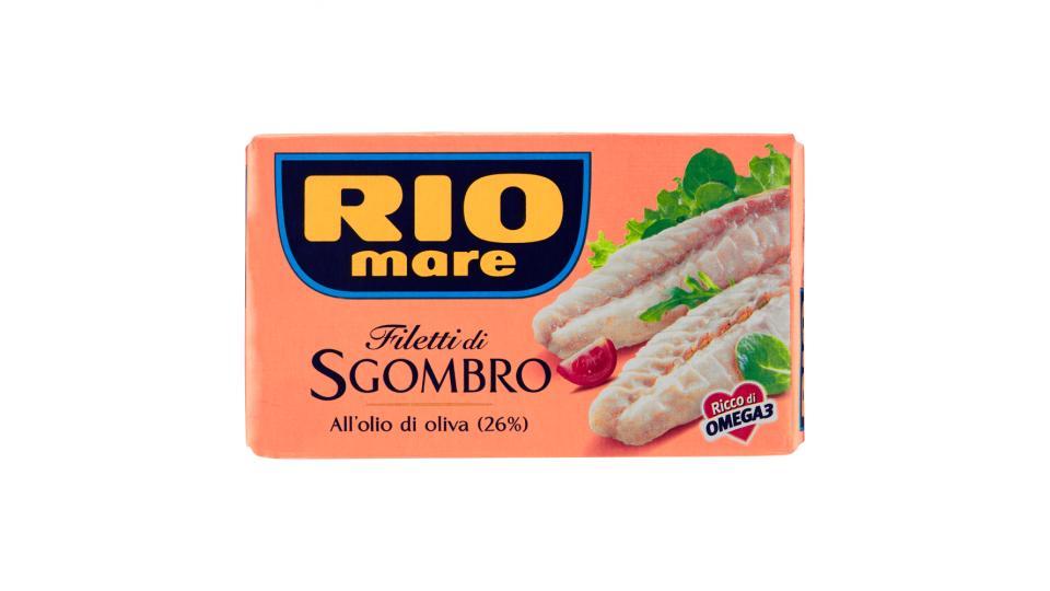 Rio Mare - Filetti di Sgombro, all'Olio di Oliva 26%