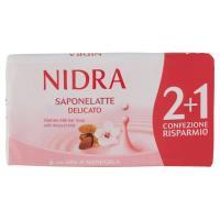 Nidra Saponelatte Delicato con latte di Mandorla