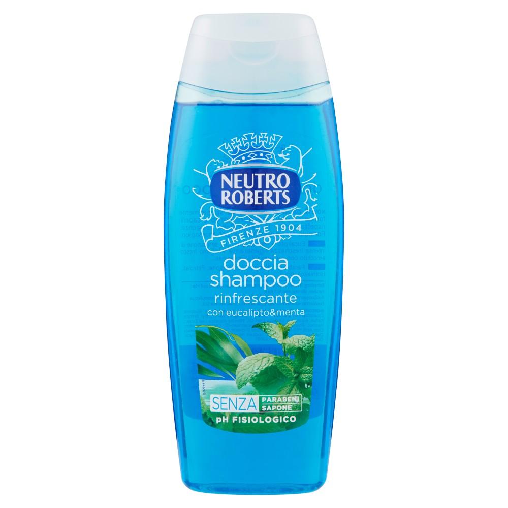 Neutro Roberts doccia shampoo rinfrescante con eucalipto&menta