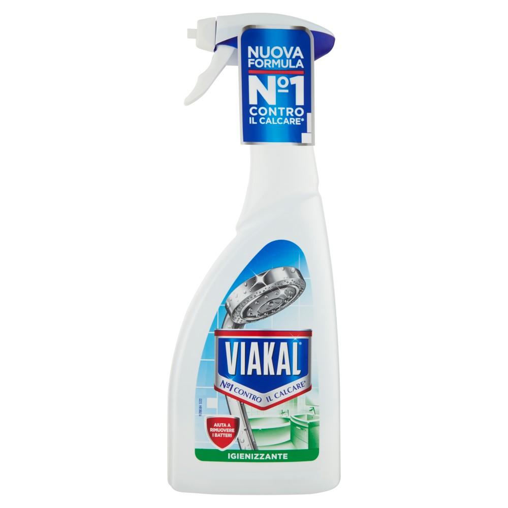 Viakal Bagno Igienizzante Anticalcare Spray