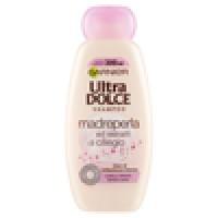 Garnier Ultra Dolce Shampoo Madreperla e Ciliegio per capelli spenti e senza luce