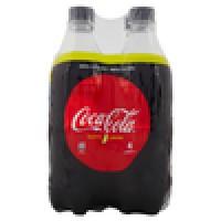 Coca-cola Lemon Zero bottiglia di plastica da 660ml confezione da