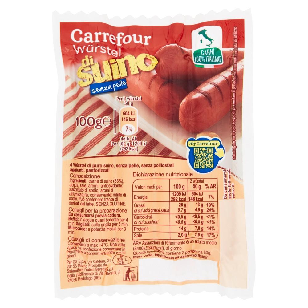 Senfter wurstel puro suino