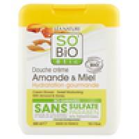 SO'BiO étic Douche crème Amande & Miel Hydratation gourmande
