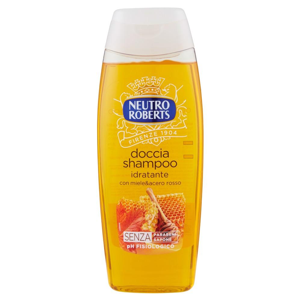 Doccia Shampoo Idratante con Miele&acero Rosso