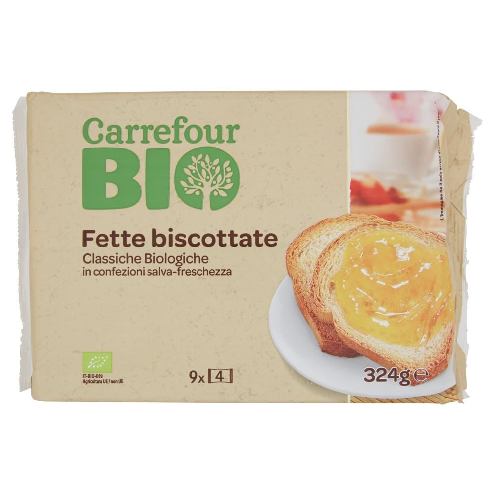 Fette Biscottate ai Cereali Biologiche 40 Fette
