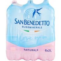 San Benedetto acqua naturale x6