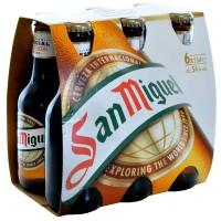 San Miguel birra cluster x6