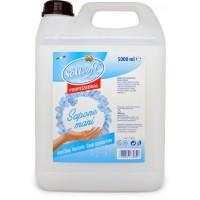 Soft Soft sapone liquido mani bianco tanica