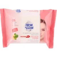 Fresh&clean struccanti per pelli sensibili x25