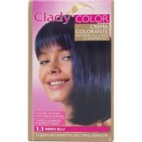 Clady shampo color nero blu