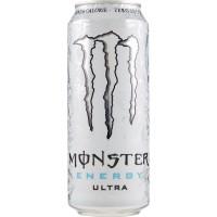 Monster Ultra White lattina da
