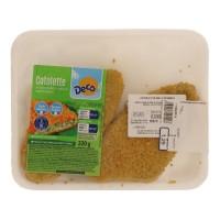 Cotoletta pollo e spinaci