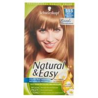 Schwarzkopf Natural&Easy Biondi Straordinari 555 Biondo Scuro Dorato Naturale