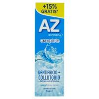 AZ Ricerca Dentifricio Complete+Collutorio Fresh & Whitening 65 ml +