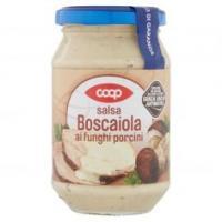 Salsa Boscaiola ai Funghi Porcini