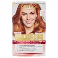 L'oréal Paris Excellence, Crema Colorante Triplo Trattamento Avanzato Biondo Ramato Dorato