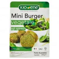 Kioene Mini Burger Vegetale Agli Spinaci