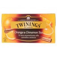 Twinings, Orange & Cinnamon Tea 20 filtri