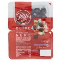 Polli, olive nere denocciolate