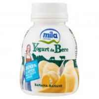 Mila Yogurt da bere banana