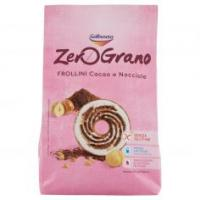 Galbusera Zerograno Senza Glutine Frollino Cacao e Nocciole