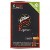 Caffè Vergnano 1882 Èspresso1882 Cremoso 10 Capsule Compatibili Nespresso