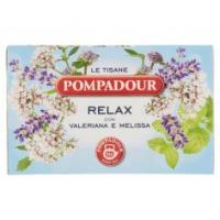 Pompadour Le Tisane Relax con Radice di Valeriana e Melissa 15+3 bustine
