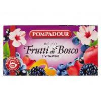 Pompadour Frutti di bosco e vitamine per infuso