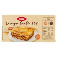 Lasagne Gialle 204 Pasta All'uovo