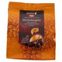 Michelangelo 100% Arabica Etiopia 15 Capsule Di Caffè Tostato E Macinato