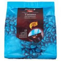 Tiziano Decaffeinato 15 Capsule Di Caffè Tostato E Macinato